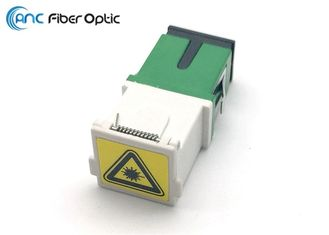 SC Shutter Fiber Optic Adapters