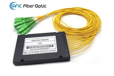 FTTX Systems Fiber Optic Splitter Low Insertion loss With 2.0mm SCAPC Connector