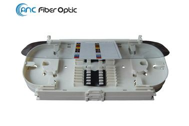 White Fiber Optic Termination Boxes 24 Core Fiber Optic Splice Tray OST-010