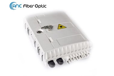 Pole Mount IP65 Ftth Fiber Optic Termination Box 16 Core ABS Material